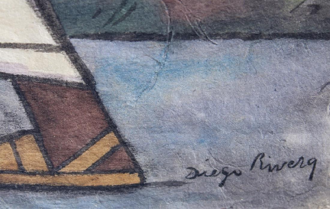 School of Diego Rivera  (1886 - 1957) - 5