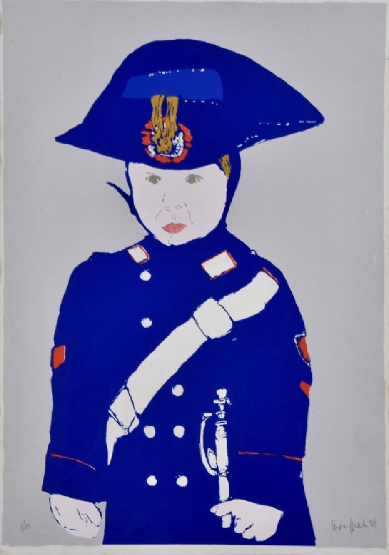 Blue Soldier Boy