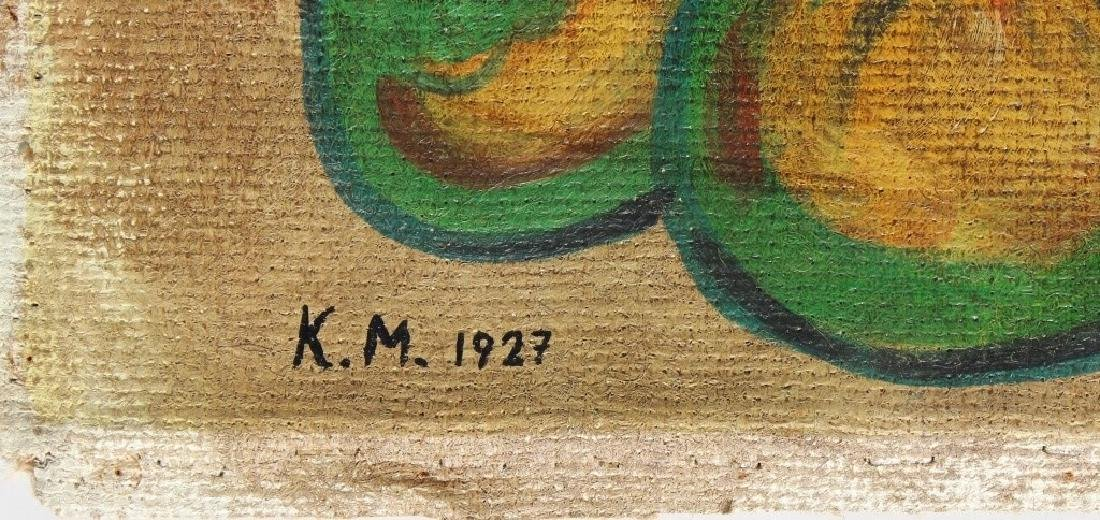 K.M  dated 1927 - 3
