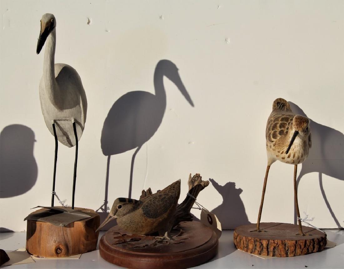 6 wooden birds - 3
