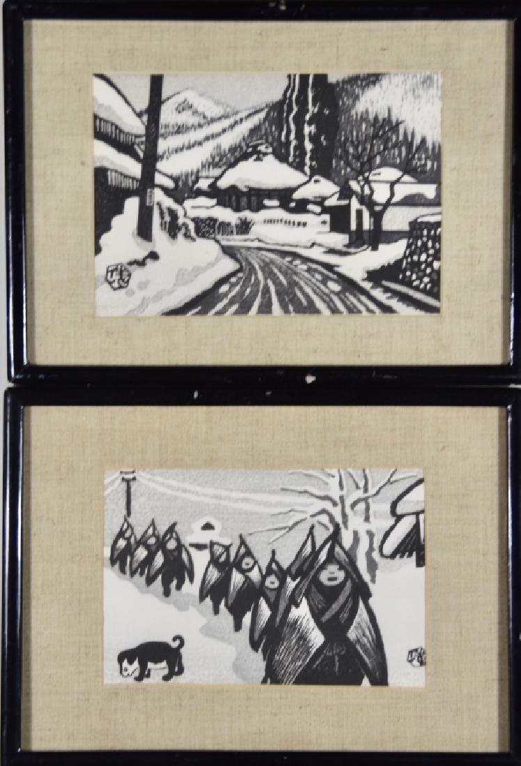 Japanese woodblocks - 5