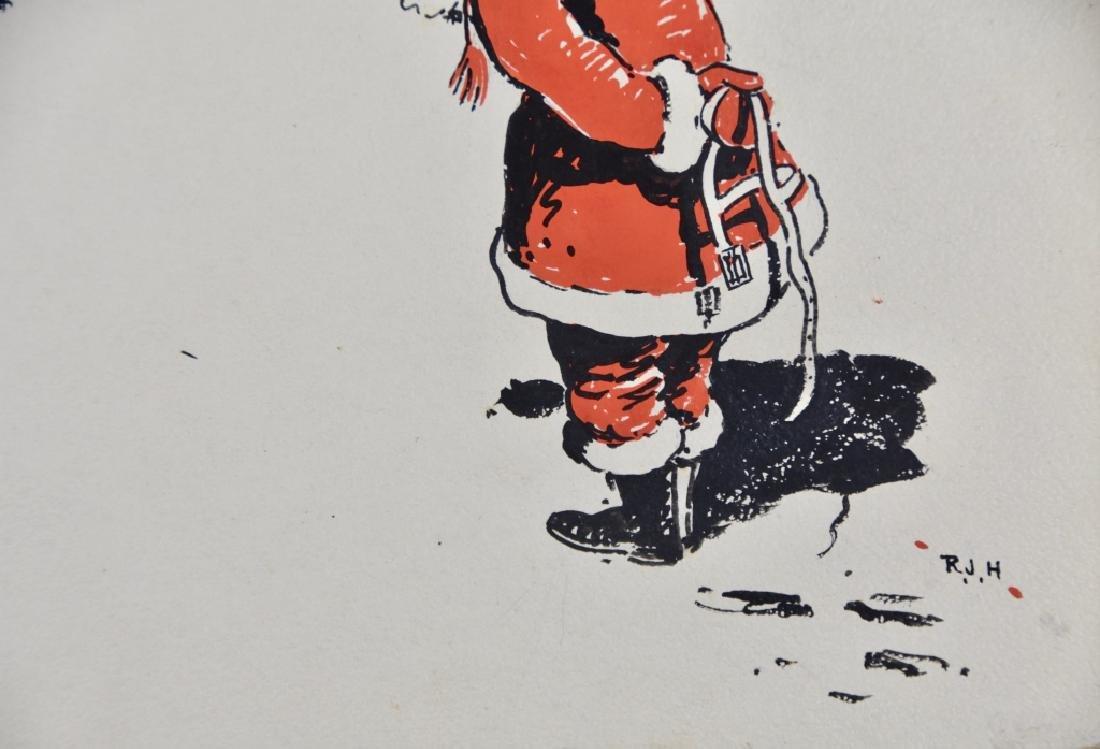 Santa Claus and Reindeer - 2