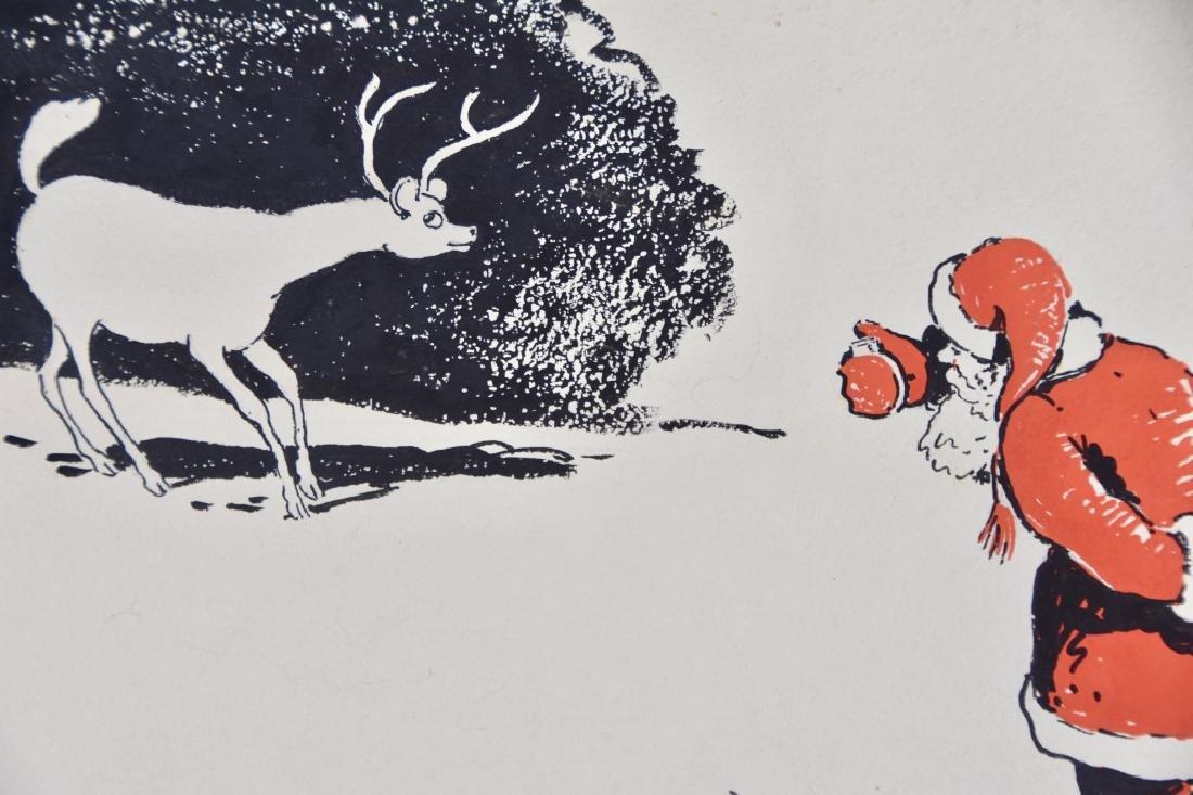 Santa Claus and Reindeer - 3