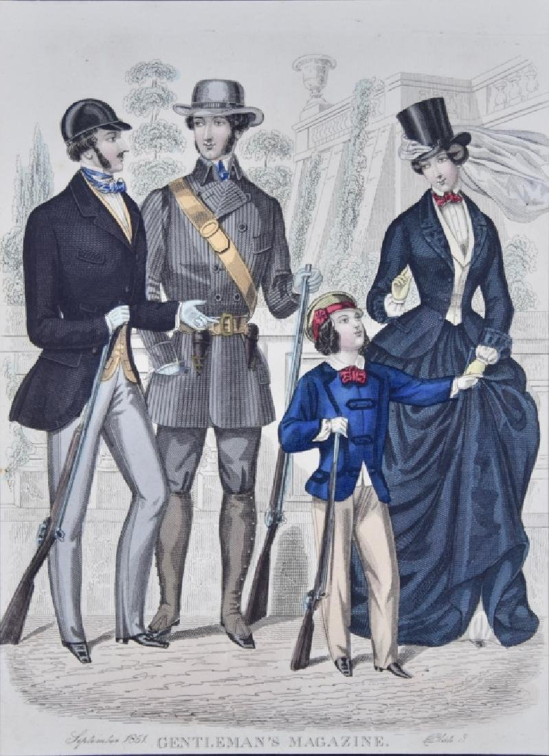 Gentleman's Magazine, 1851, plates