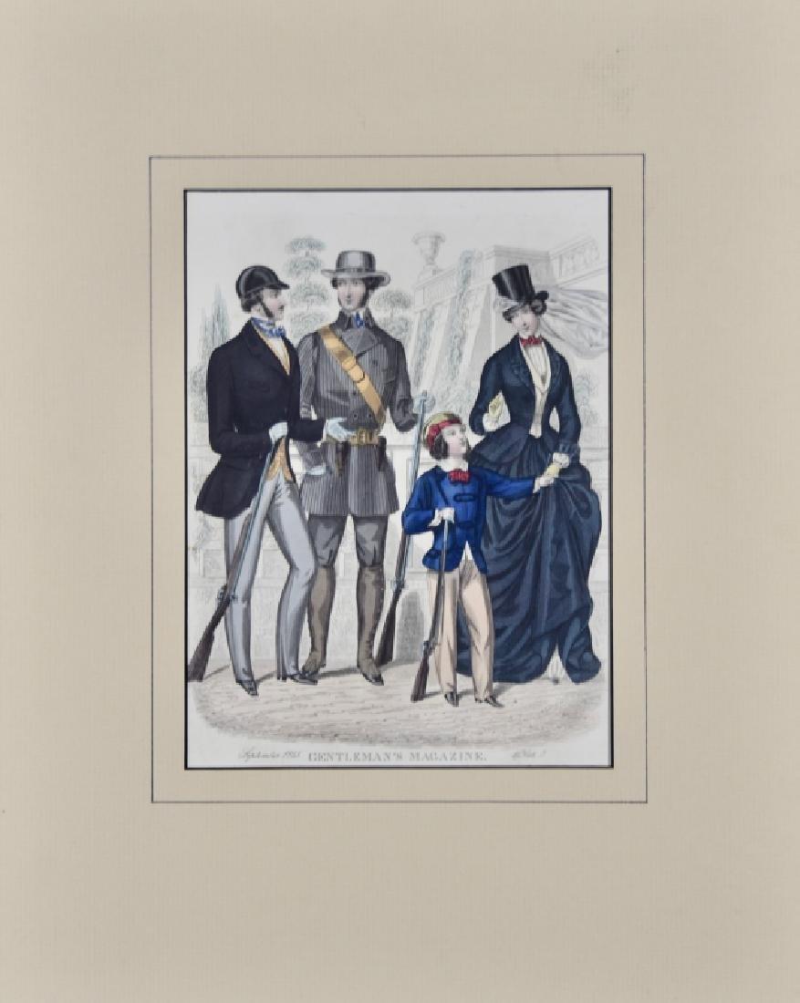 Gentleman's Magazine, 1851, plates - 6