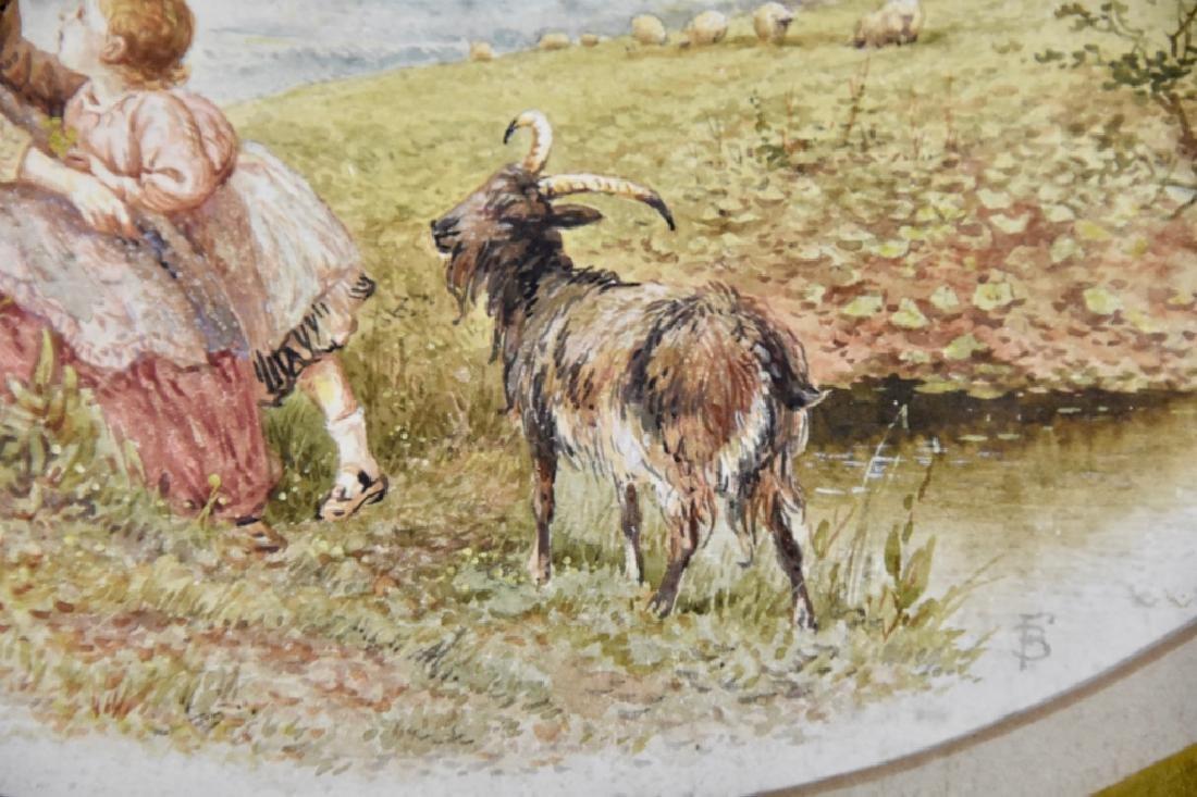 European watercolor 19th century - 3
