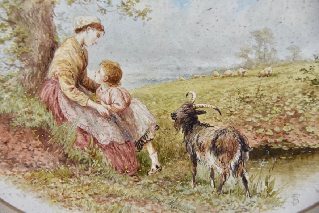 European watercolor 19th century - 4