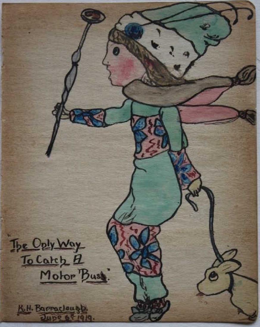 1919 watercolor