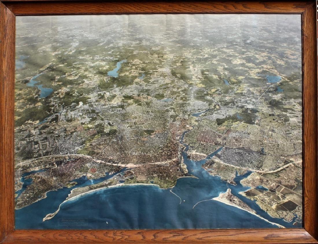 Aerial survey of Bridgeport, Conn. 1958 - 2