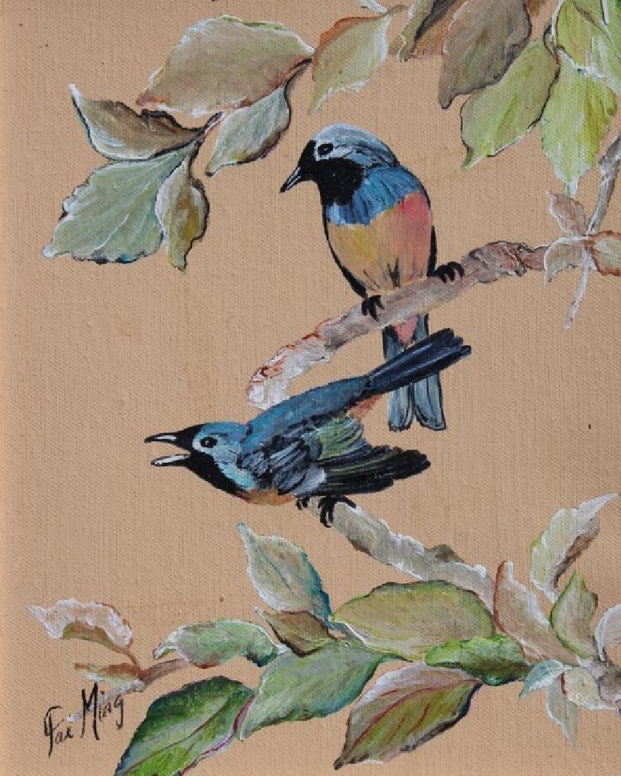 Pair of Bird paintings - 2