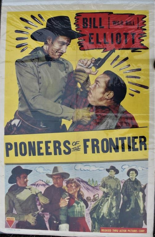 Pioneers On the Frontier Movie poster