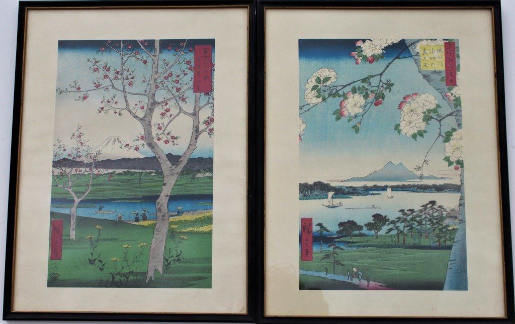 Pair of Japanese Prints
