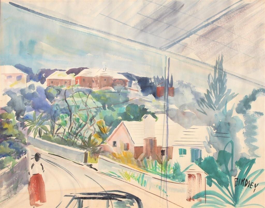 Alfred Birdsey  (1912 - 1996) Bermuda