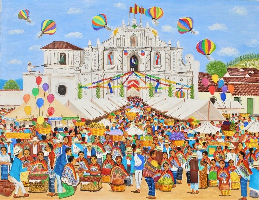 Julian Chex (Guatemala, 20th Century), folk art