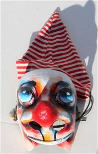Swiss Fasnacht Mask with cap