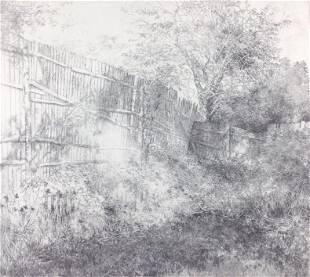 Tom Edwards etching fences
