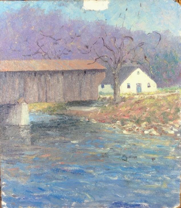 Harry Hoffman, New England Covered Bridge