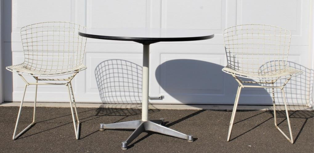 Charles Eames for Herman Miller Table, with chairs