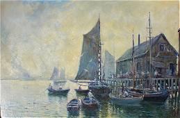 Arthur Dehl, Provincetown fishing Wharf