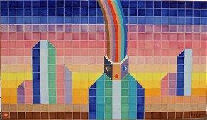 Jean-Michel Folon, Ceramic tile
