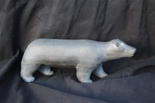 Pair of Inuit (Polar Bear and Whale)
