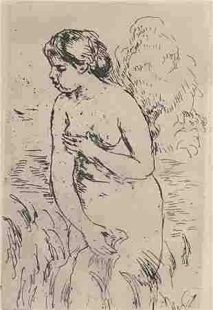 "Augusta Renoir, ""Baigneuse Debout, restrike"