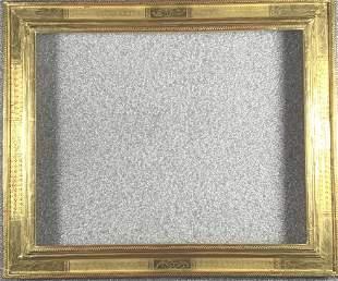 Federick Harer Gilded frame, 16 x 20