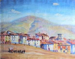 Max Kuehne, Sonia, Spain, Note Frame