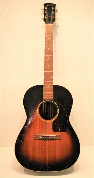 Gibson Guitar, acoustic), Serial # X 8456 31