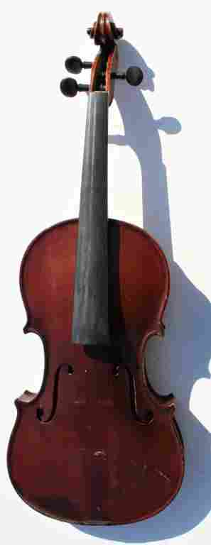 Violin  Joseph Guarneius Feit Label and another