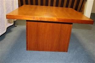 Karl Lindegaard Danish coffee table, teak,