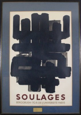 470a cycles meteore poster by affiches gaillard lot 0470a for Affiche pierre soulages