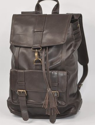 Genuine Top Grain Leather Backpack