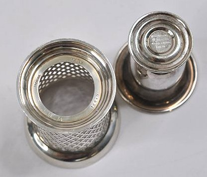 Sterling silver and silverplate tablewares - 4