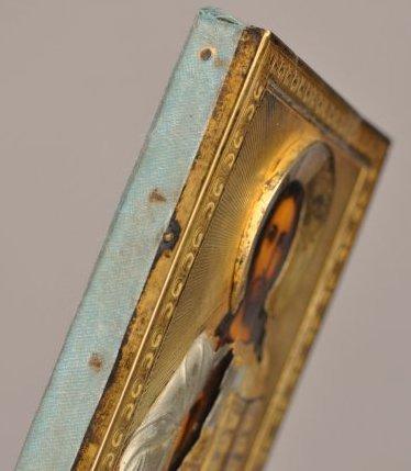 Russian Icon of Christ Pantocrator Silver Oklad - 3