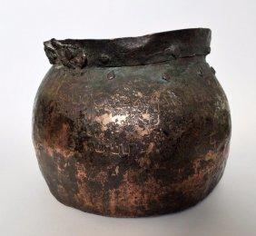 Rare Viking Bronze kettle