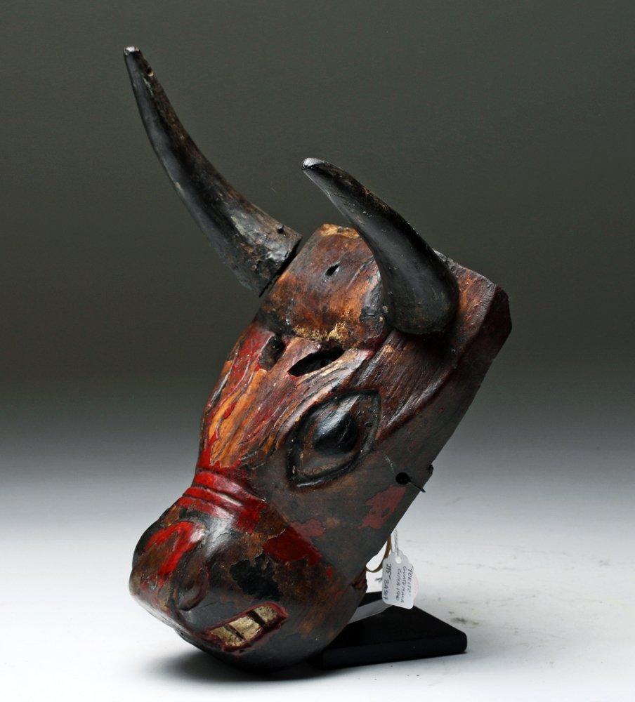 Guatemalan El Torito Dance Mask
