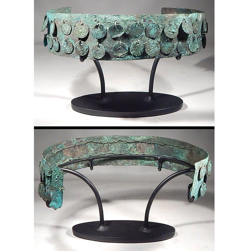 Moche Silver Crown 100 - 500AD
