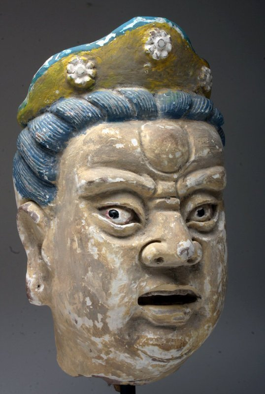 CHINESE MING DYNASTY HEAD (OVER LIFESIZE!)