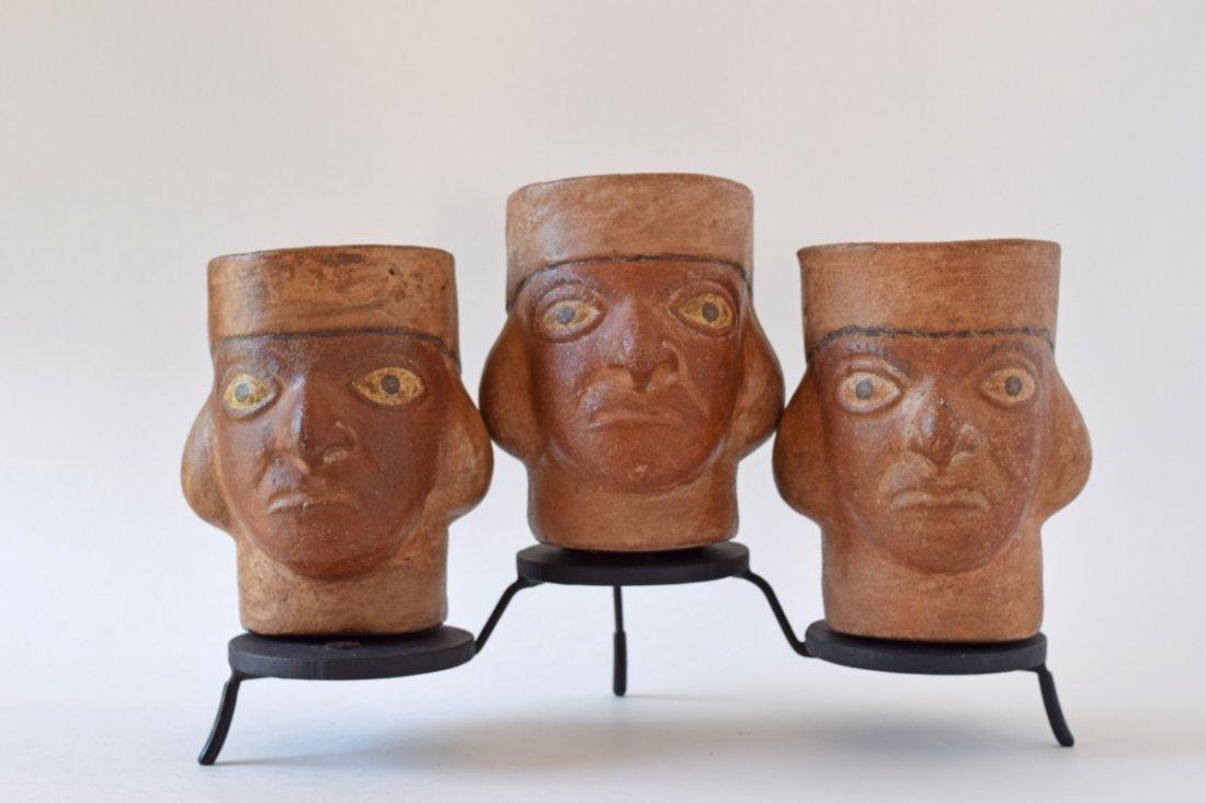 Moche Portrait Vessels
