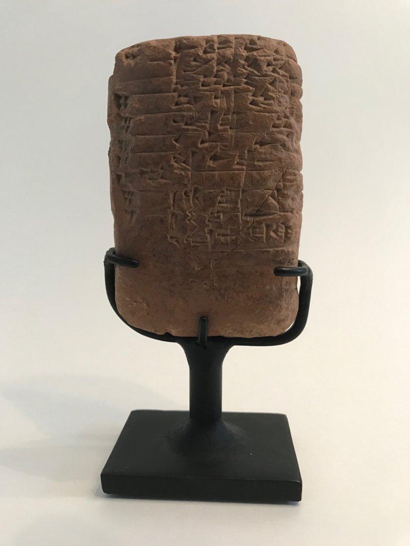 Translated Cuneiform Tablet (Biscuit) — Mesopotamia