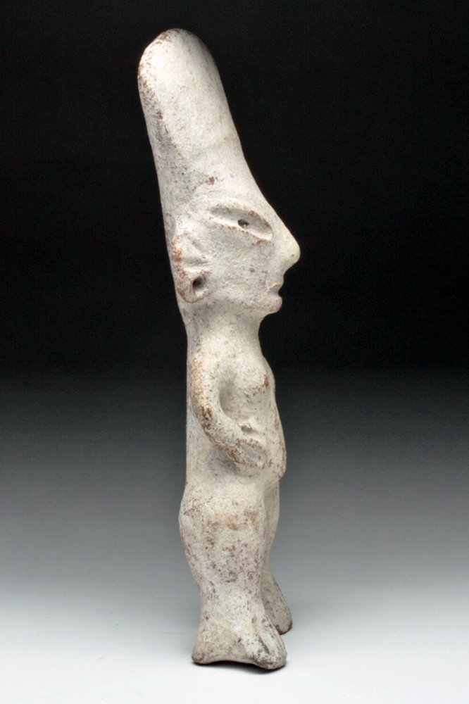 Tall / Rare Standing Tlatilco Figure - 3000 Years Old - 2