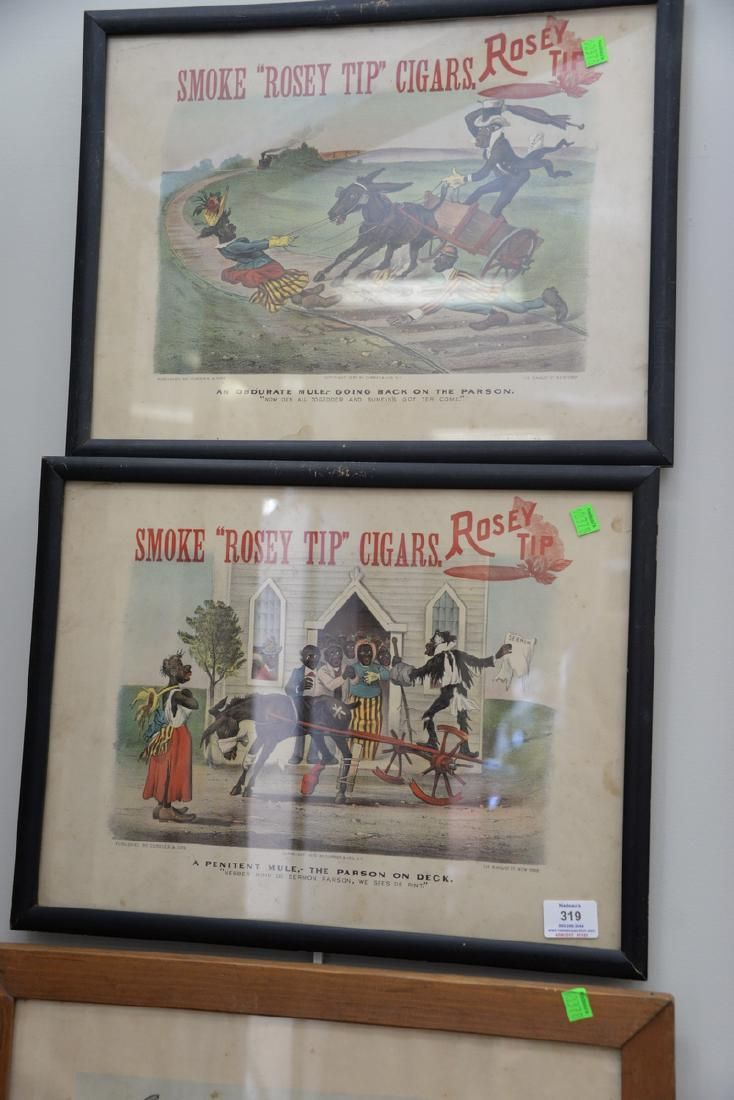 Eleven piece lot to include broadside reproduction of
