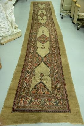 Northwest Persian Oriental runner (one small area