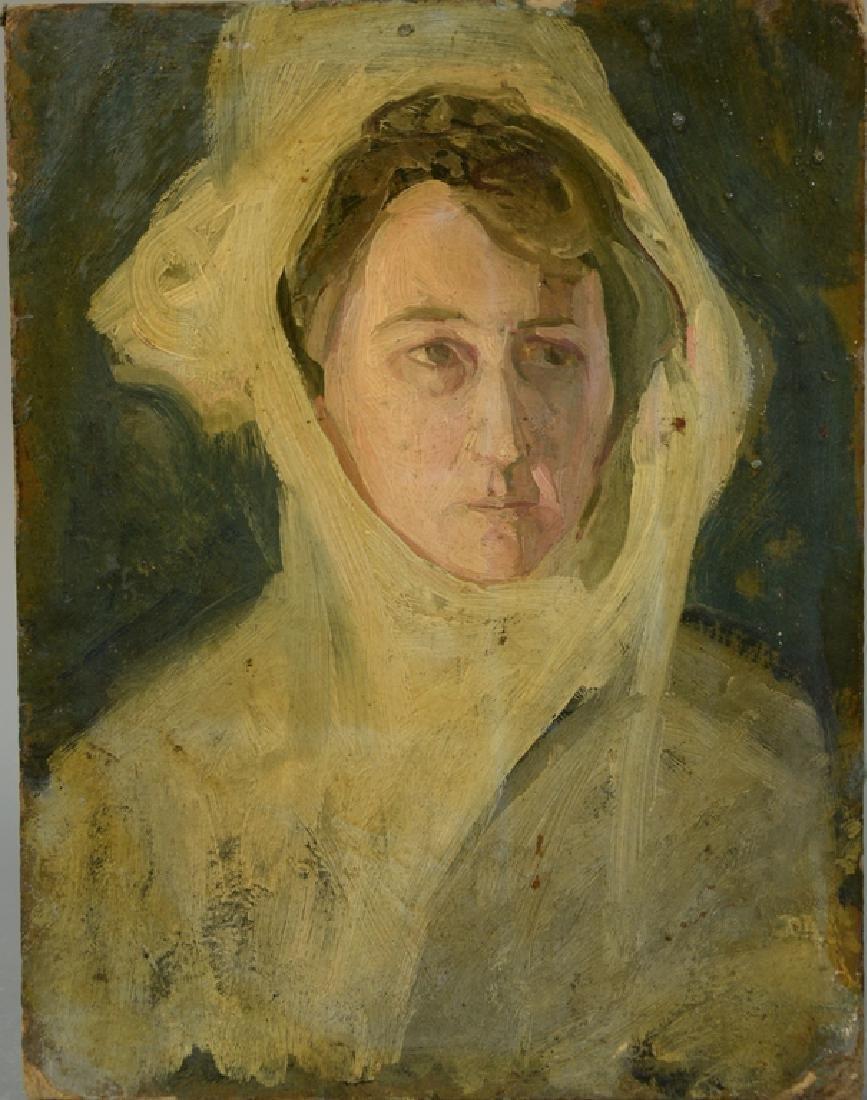 Henry Ossawa Tanner (1859-1937) oil on artist board