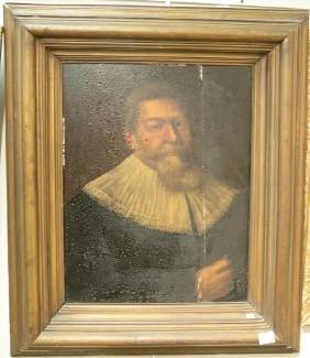 Jacobus Gerritson Strycker (1619-1687) oil on oak panel