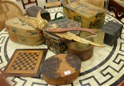 Large group of boxes and miscellaneous items to include