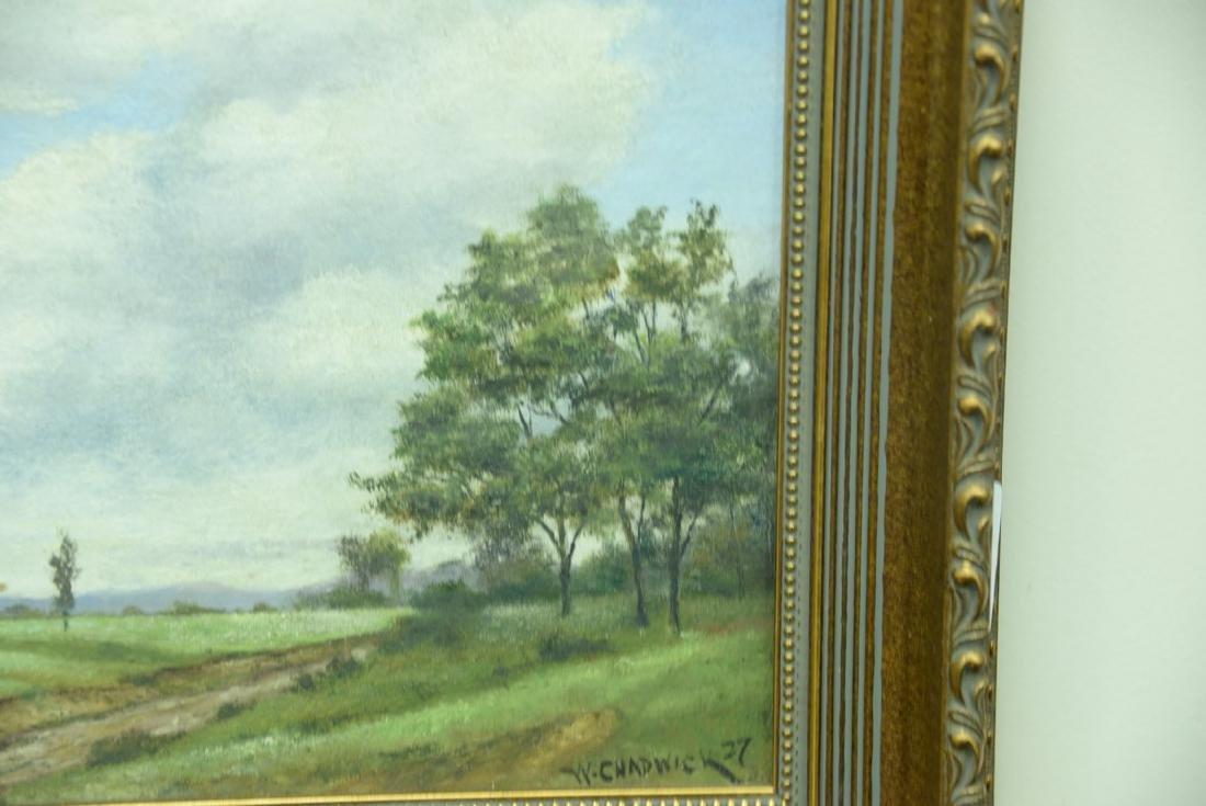 William Chadwick (1879-1962), oil on board, landscape - 2
