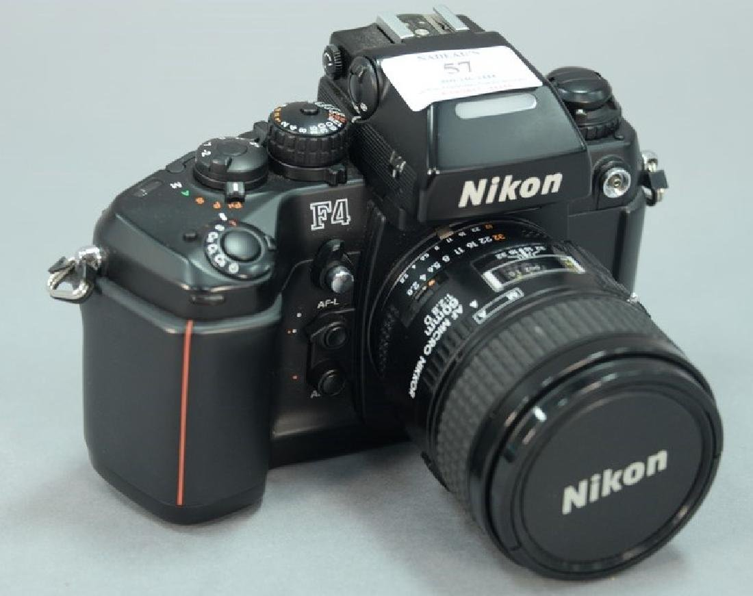 Nikon F4 (2459335) with AF Micro Nikkor 60/2.8D and