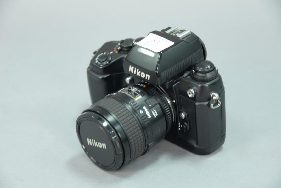 Nikon F4 (2459335) with AF Micro Nikkor 60/2.8D and - 2